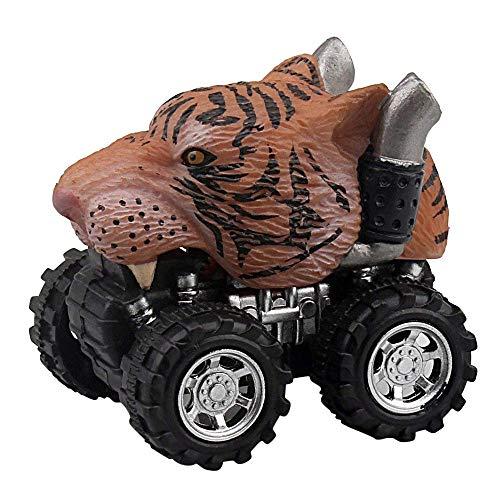 ALIKEEY Animal Niños Regalo Juguete Dinosaurio Modelo Mini Juguete Coche Regalo Pull Back Coches Juguete Clasico En Bloque Rompecabezas Inteligente Inteligentes