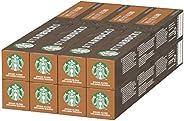 STARBUCKS House Blend De Nespresso Cápsulas De Café De Tostado Medio 8 X Tubo De 10 Unidades