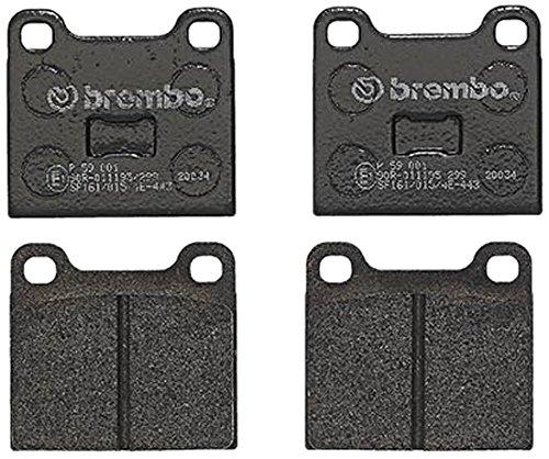 Brembo P59001 Pastiglia Freno Disco (Gt Freno Posteriore)