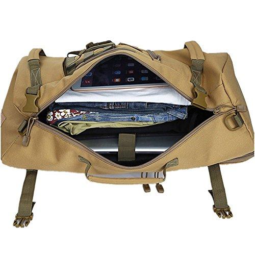 Borsa a tracolla unisex 50L un'escursione zaino di campeggio Zaino vacanze Deposito borsa multifunzionale di viaggio (04) 07
