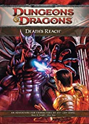 Death's Reach: Adventure E1 for 4th edition D&D (D&D adventure) (Dungeons & Dragons) by Bruce R. Cordell (2009-04-21)