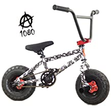 New Limited Edition 1080 Kids Stunt Freestyle Skulls Mini BMX Rocker Bike