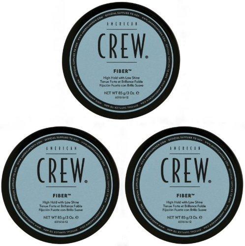 American Crew Fibra de 85 g, paquete de 3