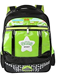 Atermia Bookbag For Kids School Backpacks For Boys Book Bags Back Pack Green