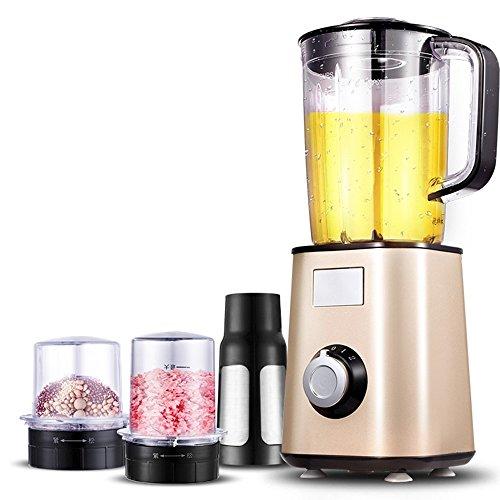 LJHA Exprimidor multifuncional automático multifuncional casero de la fruta y verdura, oro 270 * 270 * 295 del champán Licuadora