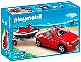 Playmobil Vacaciones – Coche con remolque y moto (5133)
