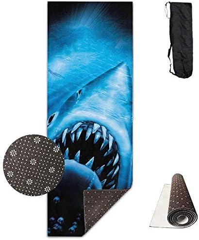 Vercxy Jaws Jaws Jaws of Ocean Shark - Tappetino da Yoga avanzato, Fodera Antiscivolo, Facile da Pulire, Senza Lattice, Leggero e Resistente, 180 x 61 cm B07K7HSTJ2 Parent   Prezzo economico    Il Nuovo Prodotto    Fashionable  6b6f47