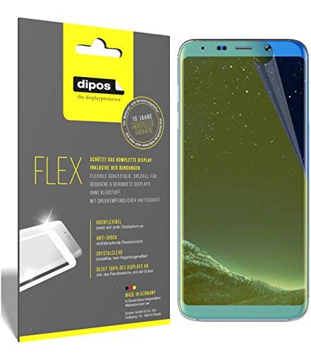 dipos I 3X Schutzfolie 100% passend für Bluboo S8+ Folie (Vollständige Bildschirmabdeckung) Bildschirmschutzfolie