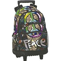 Perona Fossil Mochila escolar, 46 cm, Multicolor