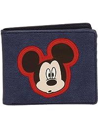 Disney Mickey Parches Porte-monnaie, 10 cm, 0.19 liters, Bleu (Azul)