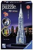 Ravensburger–12512–3D-Puzzle Night Edition Chrysler Building 216-teilig