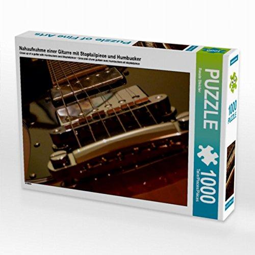 Preisvergleich Produktbild E-Gitarre - SG Standard 1000 Teile Puzzle quer: Nahaufnahme einer Gitarre mit Stoptailpiece und Humbucker (CALVENDO Kunst)