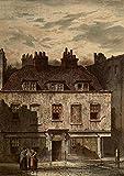 Waldo Sergeant – Old London 1900 Dyott St Bloomsbury Kunstdruck (60,96 x 91,44 cm)