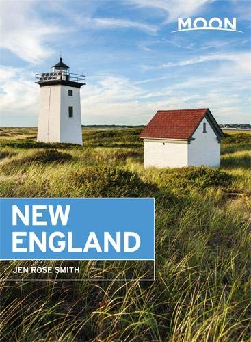 Moon New England (Travel Guide) - New Road England Map