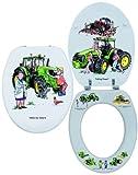 Looprints Tractor Toilet Seat