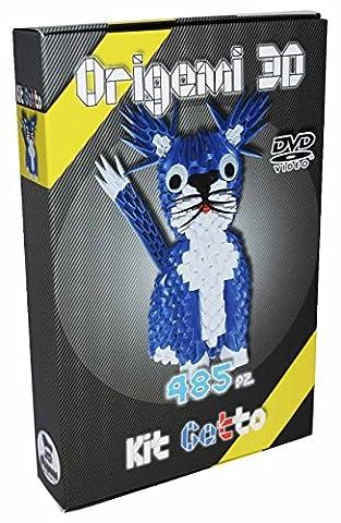 'Origami 3d Kit Chat/Cat 485pZ.–Carton