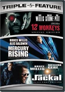 12 Monkeys / Mercury Rising / The Jackal (Three-Pack) by Bruce Willis