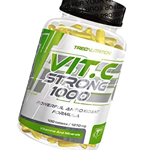 Vitamin C Strong 100 - 1000mg - Zinc & Bioflavonoids - Trec Nutrition
