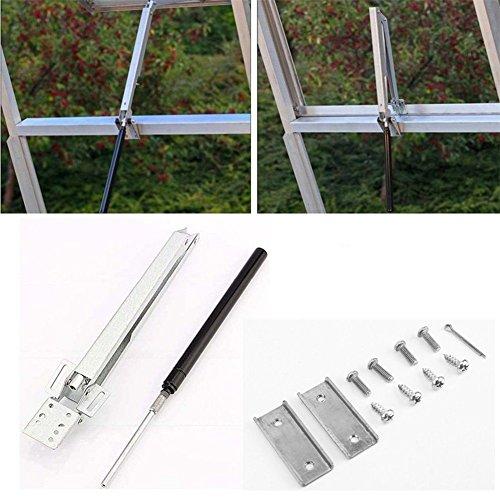 ruist-eu Control de temperatura de efecto invernadero primavera automático abridor de ventana...