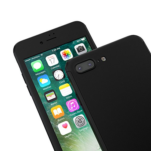 custodia iphone 7 plus vetro temperato