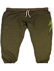 L.Bolt Mosaic Triblend Sweat Pantalones de Chándal, Hombre, Verde, M