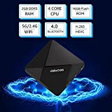 Android TV Box,DOLAMEE D5 Quad-core 2GB RAM 16GB ROM Smart 4K TV Box with BT 4.0 HDMI Dual Band WIFI Media Player