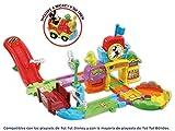 """VTech Play Set electrónico interactivo con """"La Estación de tren"""" y un coche exclusivo de Mickey (80-512222)"""