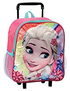 CORIEX d95129 - Rainbow Frozen Backpack Trolley