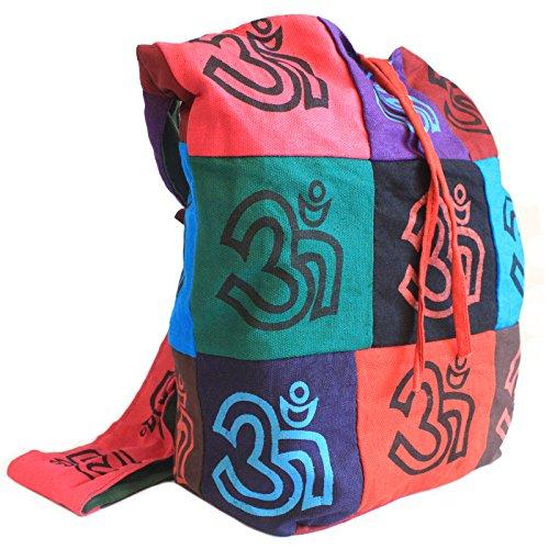 csb-02–Baumwolle Patch Sling Taschen–OM (Cross Patch Body)