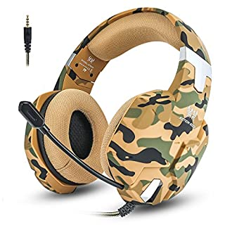 Jeecoo PS4 Gaming Headset Over-ear Bass Xbox One Headphones with Microphone for PC / Mac / Laptop