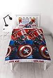 Marvel Captain America VS Iron Man Bürgerkrieg Single Bettwäsche Set