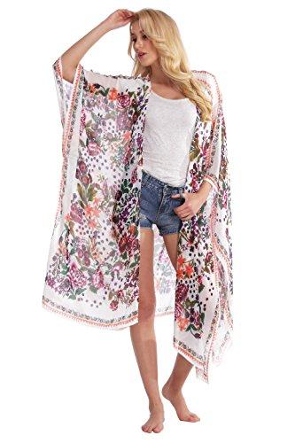 Abollria Damen Kimono Cardigan
