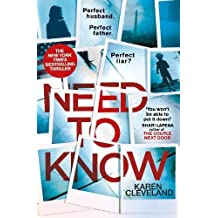 Need To Know: The thriller that's keeping everyone reading late into the night . . .