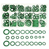 Questquo 265Pcs R134 Air Conditioning O-Ring Rubber Rings Waterproof Washer