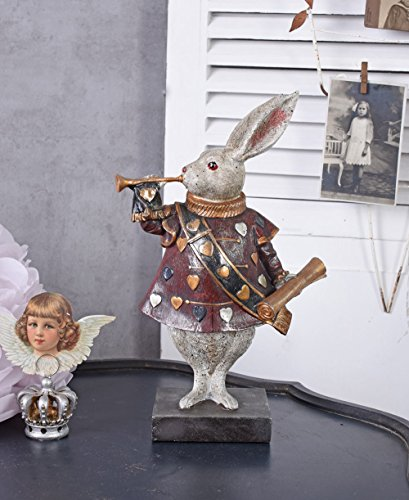 Weisses Kaninchen Figur Alice im Wunderland Peter White Fabelwesen Palazzo Exclusive -