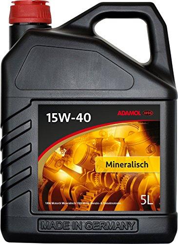 adamol 189601180139Minéral isches motorenöl 15W-40, 5l pas cher