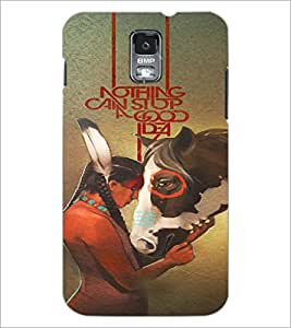 PrintDhaba Quote D-3673 Back Case Cover for SAMSUNG GALAXY S5 (Multi-Coloured)