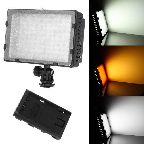 Neewer® CN-126 126PCS Video Light Pannello LED da Potenza Ultra Alta Regolabile per Fotocamera Digitale / Videocamera, LED Light per Fotocamera Digitale SLR Canon, Nikon, Pentax, Panasonic, Sony, Samsung e Olympus