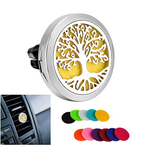 hooami-stainless-steel-tree-of-life-round-car-air-freshener-aromatherapy-essential-oil-diffuser-vent