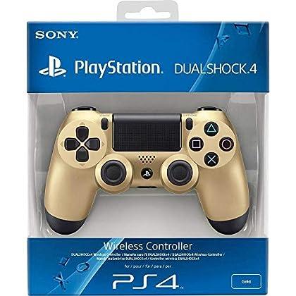 Import CEE - Mando DualShock 4, Color Dorado (P...