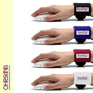 Ohrsana novipad tapis de souris ergonomique pour attacher - Tapis de souris ergonomique canal carpien ...