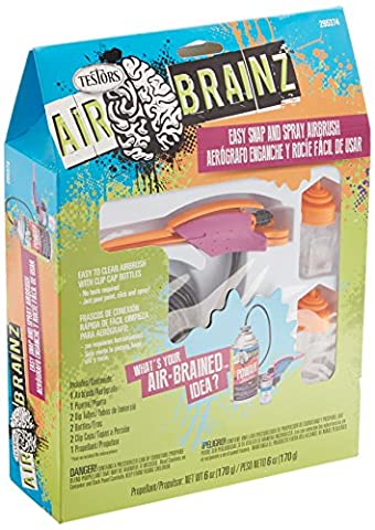 AirBrainz Airbrush Kit-Pink/Orange
