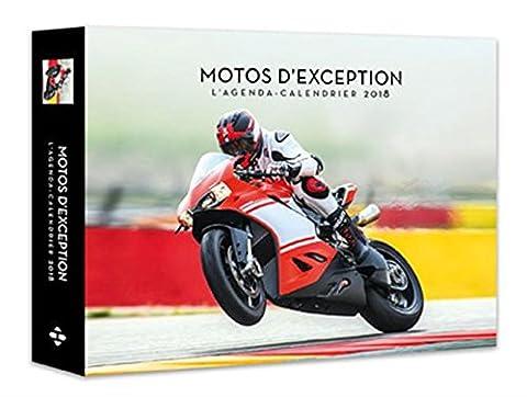 L'agenda-calendrier Motos d'exception