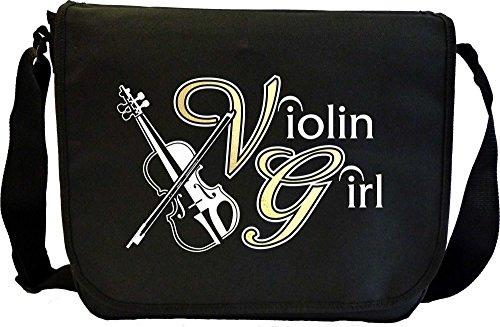 Violin Girl - Sheet Music Document Bag Musik Notentasche (Dirigent Outfit)