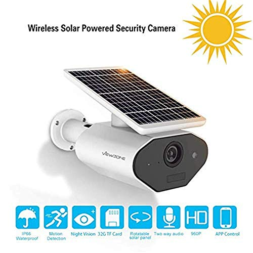 Eight Horses-S 960P Solar angetriebene Überwachungskamera/drahtl...