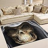 JSTEL ingbags Super Weich Modern Skull, ein Wohnzimmer Teppiche Teppich Schlafzimmer Teppich für Kinder Play massiv Home Decorator Boden Teppich und Teppiche 160x 121,9cm, multi, 63 x 48 Inch