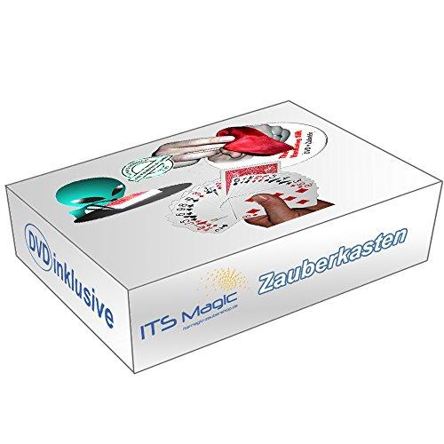 Its Magic Zauberkasten für Erwachsene: Invisible Deck + Selfworking Wonder + Vanishing Silk inkl. DVD, 3 Profi-Zaubertricks mit deutscher Anleitung für Einsteiger