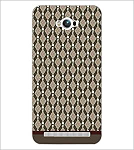 PrintDhaba Pattern D-1638 Back Case Cover for ASUS ZENFONE MAX ZC550KL (2016) (Multi-Coloured)