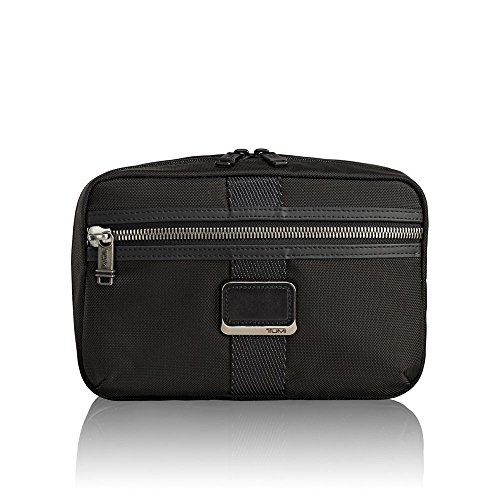 Tumi Alpha Bravo - Reno Kit Toiletry Bag, 24 Cm, 2.78 Liters, Black