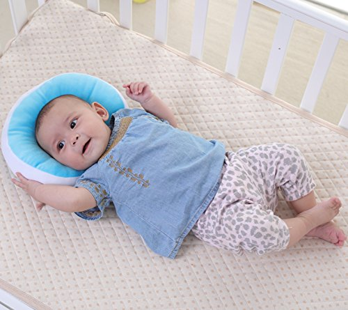 kakiblin Ultra Soft Baby Kissen Visco Kopf-Syndrom – verwendet in Kinderwagen/Kinderwagen/Stubenwagen [Energieklasse A+] (Stubenwagen Schaukeln)